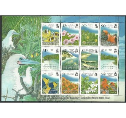 Znaczek Brytyjskie Terytorium Oceanu Indyjskiego 2009 Mi ark 492-503 Czyste **