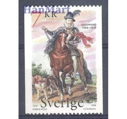 Znaczek Szwecja 1998 Mi 2081 Czyste **