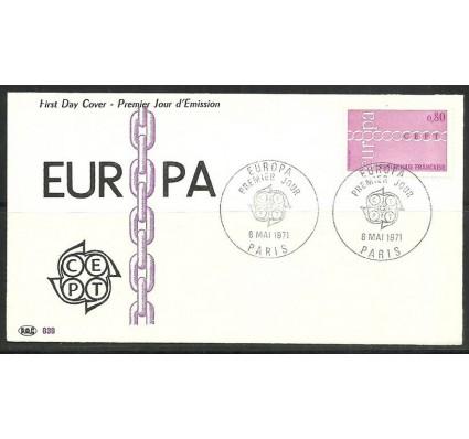 Znaczek Francja 1971 Mi 1749 FDC