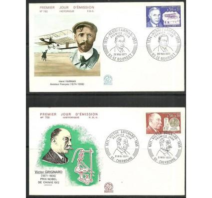 Znaczek Francja 1971 Mi 1751-1752 FDC
