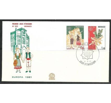 Znaczek Monako 1981 Mi 1473-1474 FDC
