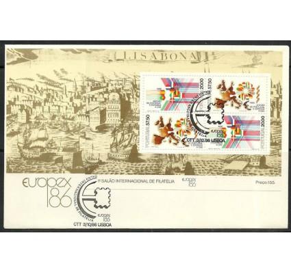 Znaczek Portugalia 1986 Mi bl 52 FDC
