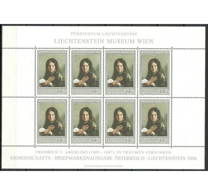 Znaczek Liechtenstein 2006 Mi ark 1402 Czyste **