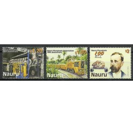 Znaczek Nauru 2000 Mi 492-494 Czyste **