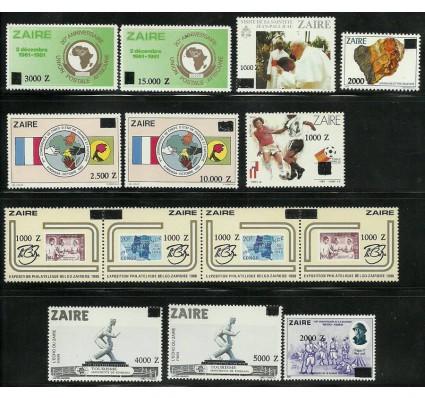 Znaczek Kongo Kinszasa / Zair 1991 Mi 1045-1058 Czyste **