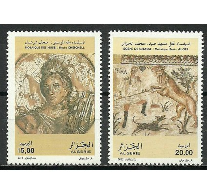 Znaczek Algieria 2012 Mi 1710-1711 Czyste **