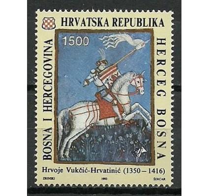 Znaczek Mostar 1993 Mi 10 Czyste **