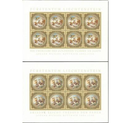 Znaczek Liechtenstein 2010 Mi ark 1555-1556 Czyste **
