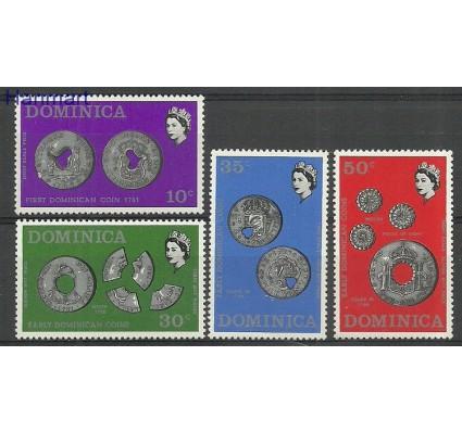 Znaczek Dominika 1971 Mi 333-336 Czyste **