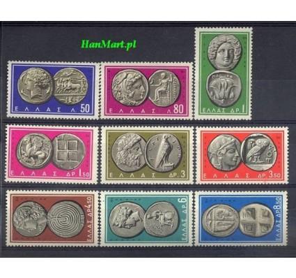Znaczek Grecja 1963 Mi 807-815 Czyste **