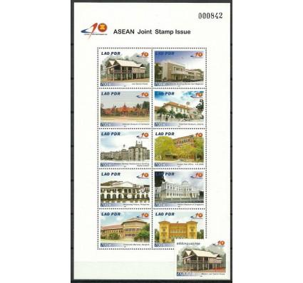 Znaczek Laos 2007 Mi ark 2027-2036+2037 Czyste **