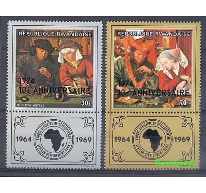 Znaczek Rwanda 1974 Mi 671-672 Czyste **