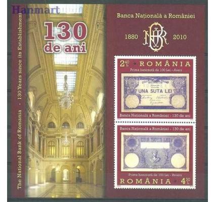 Znaczek Rumunia 2010 Mi bl 477 Czyste **