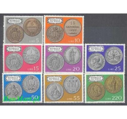 Znaczek San Marino 1972 Mi 1017-1024 Czyste **