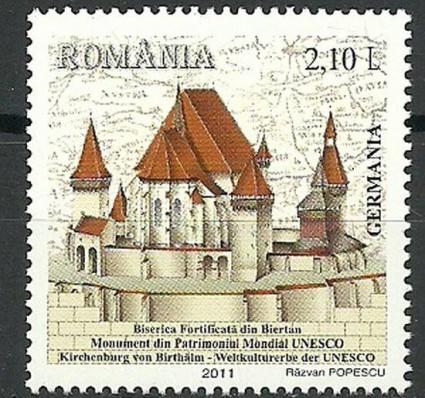 Znaczek Rumunia 2011 Mi 6560 Czyste **
