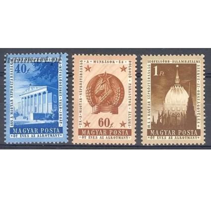 Węgry 1954 Mi 1384-1386 Czyste **