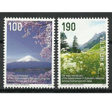 Znaczek Szwajcaria 2014 Mi 2326-2327 Czyste **