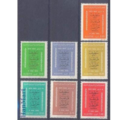 Znaczek Algieria 1975 Mi 661-667 Czyste **