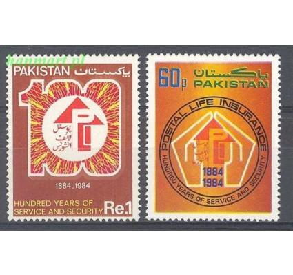Pakistan 1984 Mi 643-644 Czyste **