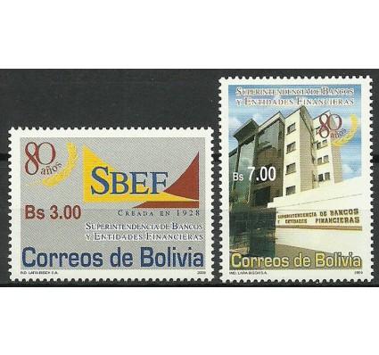 Znaczek Boliwia 2008 Mi 1764-1765 Czyste **