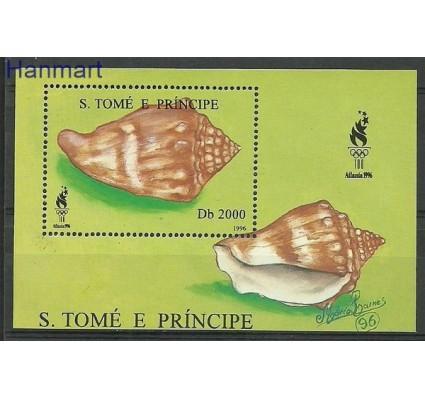Znaczek Wyspy Św. Tomasza i Książęca 1996 Mi bl 350 Czyste **