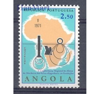 Znaczek Angola 1971 Mi 580 Czyste **