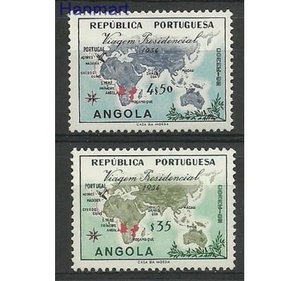 Znaczek Angola 1954 Mi 390-391 Czyste **