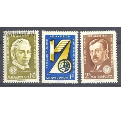 Znaczek Węgry 1961 Mi 1769-1771 Czyste **
