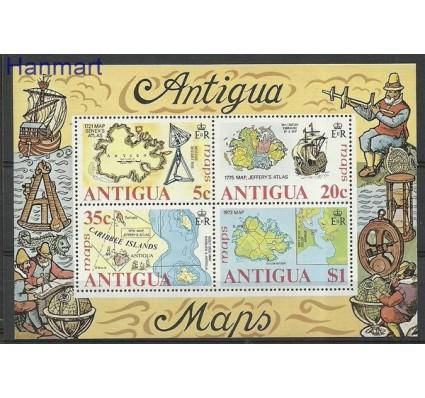 Znaczek Antigua i Barbuda 1975 Mi bl 20 Czyste **