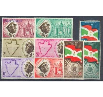 Znaczek Burundi 1962 Mi 25-33 Czyste **