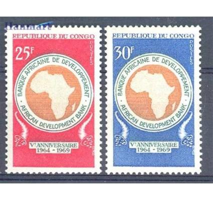 Znaczek Kongo 1969 Mi 182-183 Czyste **