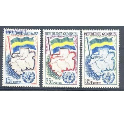 Znaczek Gabon 1961 Mi 157-159 Czyste **