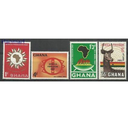 Znaczek Ghana 1963 Mi 141-144 Czyste **