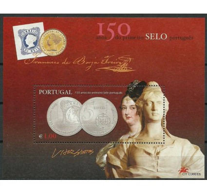 Znaczek Portugalia 2003 Mi bl 193 Czyste **