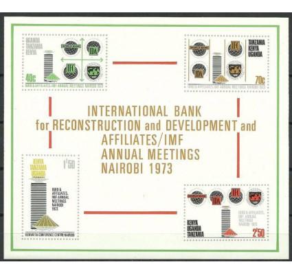Kenia Uganda Tanganyika 1973 Mi bl 4 Czyste **