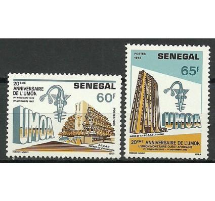 Znaczek Senegal 1983 Mi 801-802 Czyste **