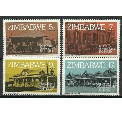 Znaczek Zimbabwe 1980 Mi 247-250 Czyste **