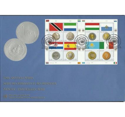 Znaczek Narody Zjednoczone Wiedeń 2007 Mi ark 489-496 FDC