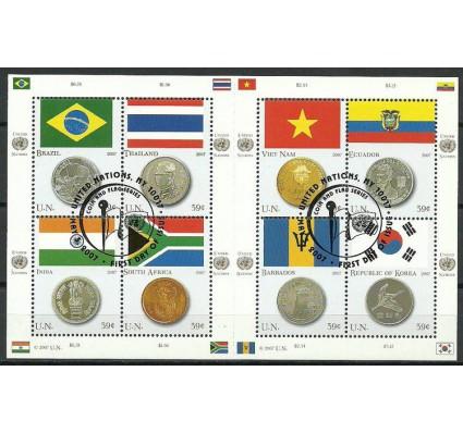 Znaczek Narody Zjednoczone Nowy Jork 2007 Mi ark 1049-1056 Stemplowane