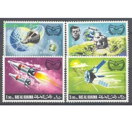Ras Al Khaima 1969 Mi 317-320 Czyste **