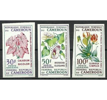 Znaczek Kamerun 1969 Mi 569-571B Czyste **