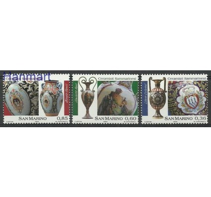 Znaczek San Marino 2009 Mi 2369-2371 Czyste **