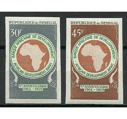Znaczek Senegal 1969 Mi 403-404B Czyste **
