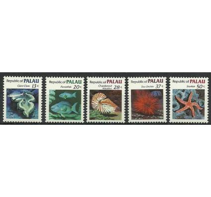 Znaczek Palau 1983 Mi 13-15+17-18 Czyste **
