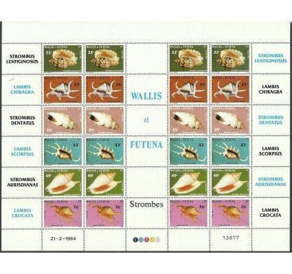 Znaczek Wallis et Futuna 1984 Mi ark 460-465 Czyste **