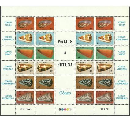 Znaczek Wallis et Futuna 1983 Mi ark 448-453 Czyste **