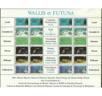 Znaczek Wallis et Futuna 1981 Mi ark 390-395 Czyste **