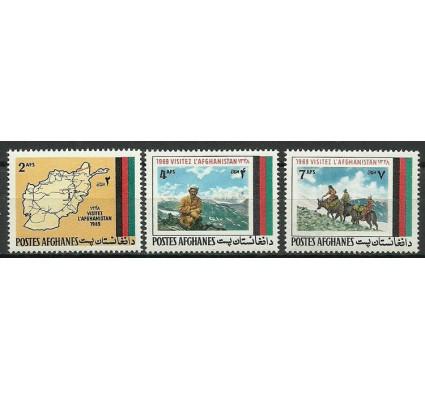 Znaczek Afganistan 1969 Mi 1048-1050 Czyste **