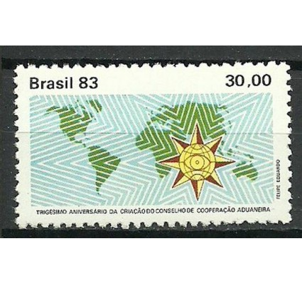Znaczek Brazylia 1983 Mi 1962 Czyste **