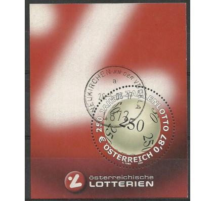Znaczek Austria 2002 Mi bl 17 Stemplowane